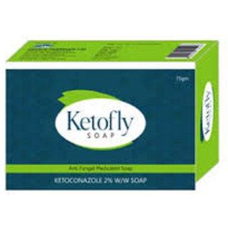 Ketofly antiseptic antifungal soap (set of 10 pcs.) 75gm each