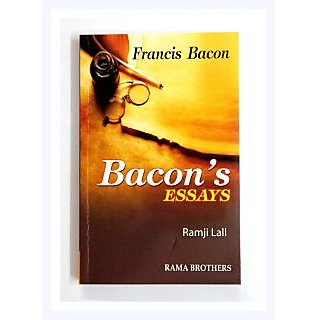 Buy Francis Bacon  Bacons Essays By Ramji Lal Online  Get  Off Francis Bacon  Bacons Essays By Ramji Lal