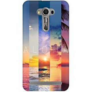 RAYITE Aloha Premium Printed Mobile Back Case Cover For Asus Zenfone 2 Laser ZE500ML