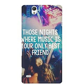 RAYITE Sunburn Lost In The Music Premium Printed Mobile Back Case Cover For Sony Xperia C4