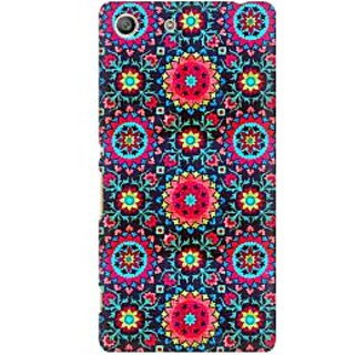 RAYITE Beautiful Mandala Pattern Premium Printed Mobile Back Case Cover For Sony Xperia M5