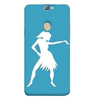 Print Masti Beautiful Blue Galaxy In The Sky Design Back Cover For Coolpad Max A8