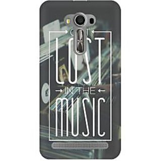 RAYITE Lost In The Music Premium Printed Mobile Back Case Cover For Asus Zenfone 2 Laser ZE500ML