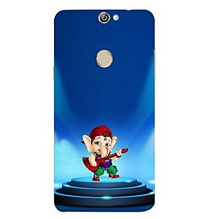 Print Masti Cute Mario Is Flying In Twinkling Stars Background Design Back Cover For Coolpad Max A8