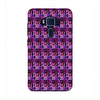 Print Masti Cute Couple Is Kissing Under Umbrella On Road Design Back Cover For Asus Zenfone 3 Deluxe ZS570KL (5.7 Inches)