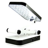EMERGENCY LIGHT LAMP  WITH SMD LED, FOLDABLE DESK LAMP  SOLAR CHARGER