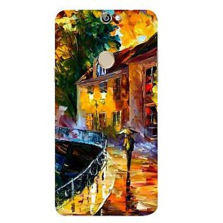 Print Masti Lovely Colorful Floral Design Back Cover For Coolpad Max A8