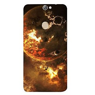 Print Masti Cute White Relaxing Message In Black Background Design Back Cover For Coolpad Max A8