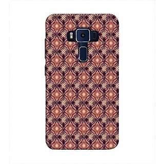 Print Masti Cute Trendy White Google In Black Background Design Back Cover For Asus Zenfone 3 Deluxe ZS570KL (5.7 Inches)