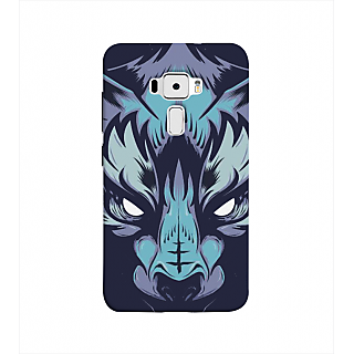 Print Masti Cute Pisces Sunsign Design Back Cover For Asus Zenfone 3 ZE552KL (5 Inches)