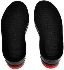 Sangaitap Instant 6cm height increasing adjustable Leatherette Heel Regular Shoe Insole  (black)