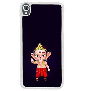 Ifasho Modern Art Ganesh Back Case Cover For HTC Desire 820