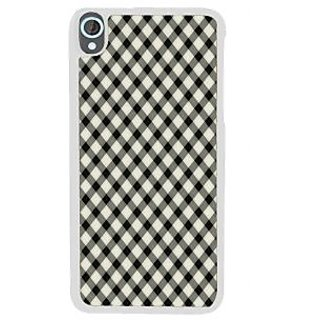 Ifasho Animated Pattern Of Chevron Arrows Royal Style Back Case Cover For HTC Desire 820