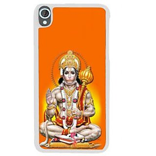 Ifasho Lord Hanuman Back Case Cover For HTC Desire 820