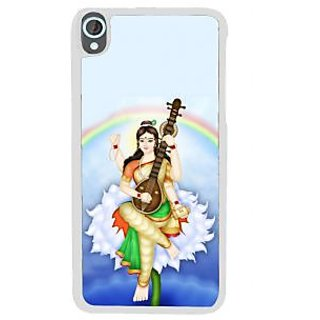 Ifasho Goddess Saraswati  Back Case Cover For HTC Desire 820