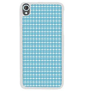 Ifasho Modern Art Design Animated Cloth Pattern Back Case Cover For HTC Desire 820