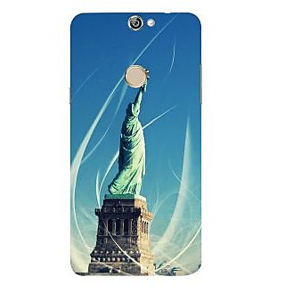 Print Masti Artistic Classic Pink Design Back Cover For Coolpad Max A8