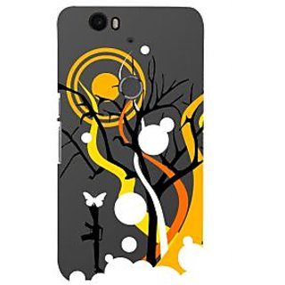 Print Masti Lovely Number 6 Strip In Cream Bakground Design Back Cover For Huawei Nexus 6P :: Huawei Google Nexus 6P