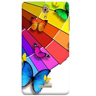 Print Masti Cute Blue Hearts Design Back Cover For Coolpad Mega 2.5D