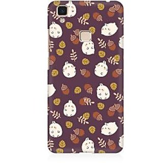 RAYITE Cute Toon Premium Printed Mobile Back Case Cover For Vivo V3 Max