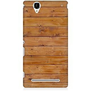 RAYITE Rose Wood Pattern Premium Printed Mobile Back Case Cover For Sony Xperia T2
