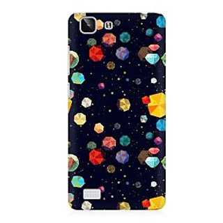 RAYITE 3D Balloon Pattern Premium Printed Mobile Back Case Cover For Vivo X5