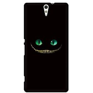 RAYITE Devil Smile Premium Printed Mobile Back Case Cover For Sony Xperia C5