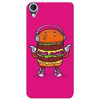 HACHI Premium Printed Cool Case Mobile Cover For HTC Desire 820G+