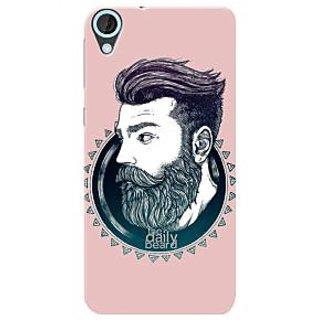 HACHI Premium Printed Cool Case Mobile Cover For HTC Desire 820