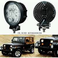 2 X 9 Led Round Fog Light For all car and bikes