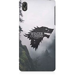 RAYITE Winter Is Coming Stark Premium Printed Mobile Back Case Cover For Sony Xperia Z5