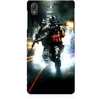 RAYITE Gamer Premium Printed Mobile Back Case Cover For Sony Xperia Z5
