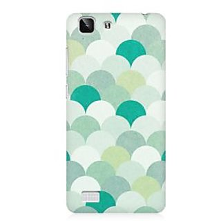 RAYITE Silver Umbrella Premium Printed Mobile Back Case Cover For Vivo X5