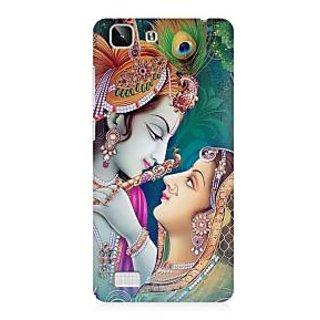 RAYITE Radha Krishna Premium Printed Mobile Back Case Cover For Vivo X5