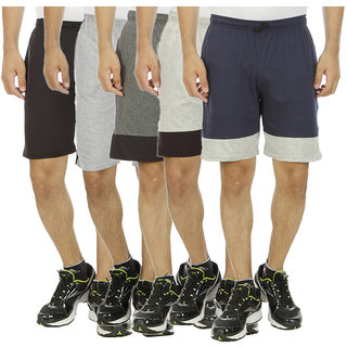 HARDYS COLLECTION Multicolor Cotton Shorts for Men's