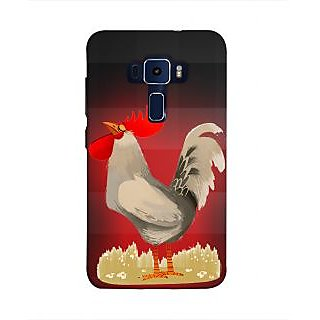 Print Masti Color Full Picture Of Water Mark Design Back Cover For Asus Zenfone 3 Laser ZC551KL (5.5 Inches)