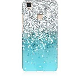 RAYITE Glitter Print Pattern Premium Printed Mobile Back Case Cover For Vivo V3 Max