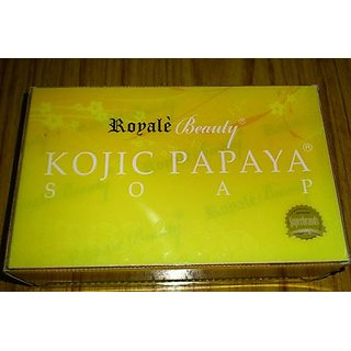 Kojic Papaya Soap For Skin Whitning (Royale's Product)