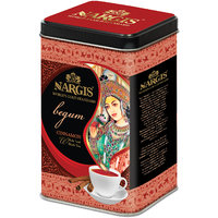 Nargis Premium Quality Indian Black Tea With Cinnamon Flavour In Metal Tin 200gm