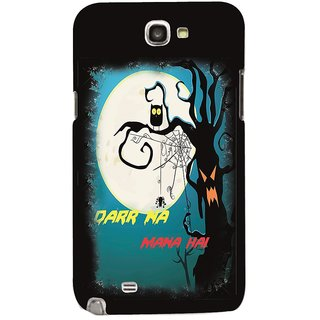 Snooky Digital Print Hard Back Case Cover For Samsung Galaxy Note 2 Td10928