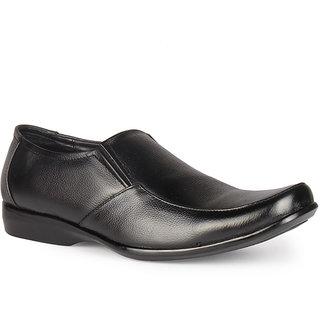 Leather King Men Formal Shoe Martin Black