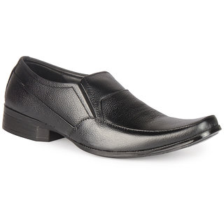 Leather King Men Formal Shoe Smith Black