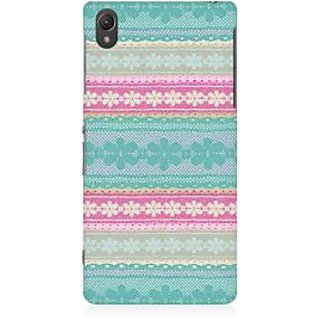 RAYITE Cute Pattern Premium Printed Mobile Back Case Cover For Sony Xperia Z5