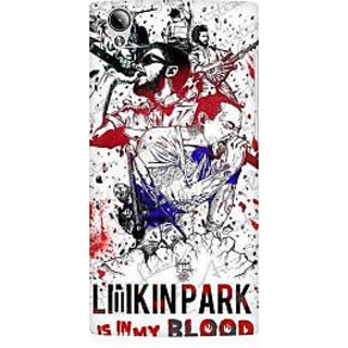 RAYITE Linkin Park Premium Printed Mobile Back Case Cover For Vivo Y15