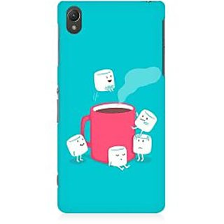 RAYITE Sugar Cube Coffee Premium Printed Mobile Back Case Cover For Sony Xperia Z5