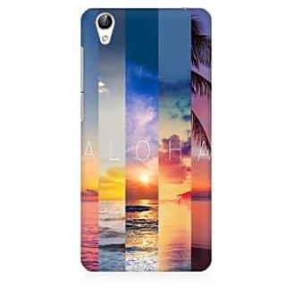 RAYITE Aloha Premium Printed Mobile Back Case Cover For Vivo Y51L