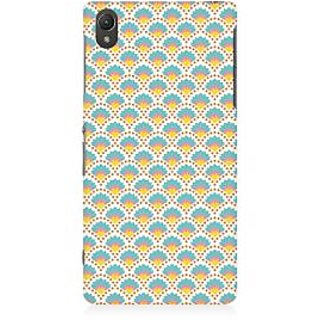 RAYITE Colourful Shell Pattern Premium Printed Mobile Back Case Cover For Sony Xperia Z5