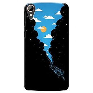 HACHI Premium Printed Cool Case Mobile Cover For HTC Desire 828