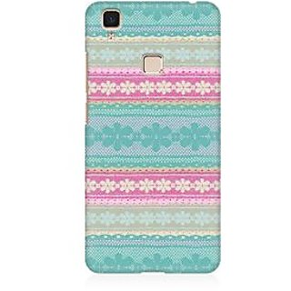 RAYITE Cute Pattern Premium Printed Mobile Back Case Cover For Vivo V3 Max