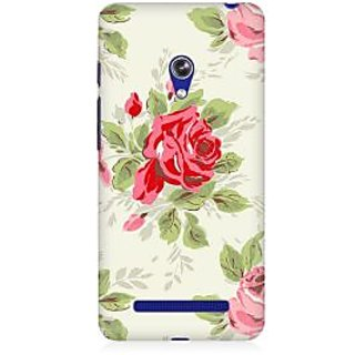 RAYITE Rose Flower Premium Printed Mobile Back Case Cover For Asus Zenfone 5